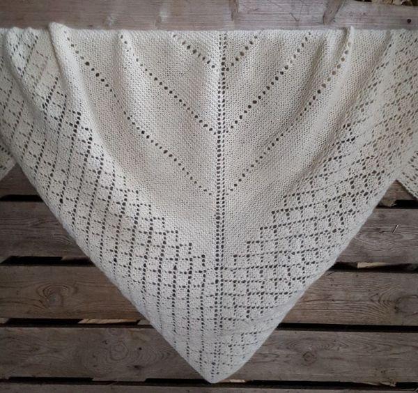 Rauma materials and pattern for Shawl
