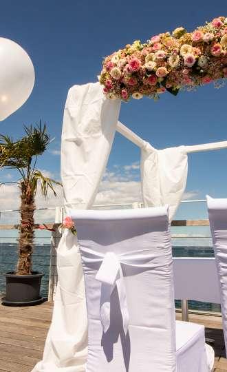 Eine Wunderschone Location Fur Hochzeiten Mit Blick Aufs Meer