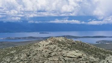 Im Süden Olchons - Blick über Ogoj auf das Kleine Meer