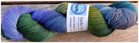 Socks That Rock - Nodding Violet