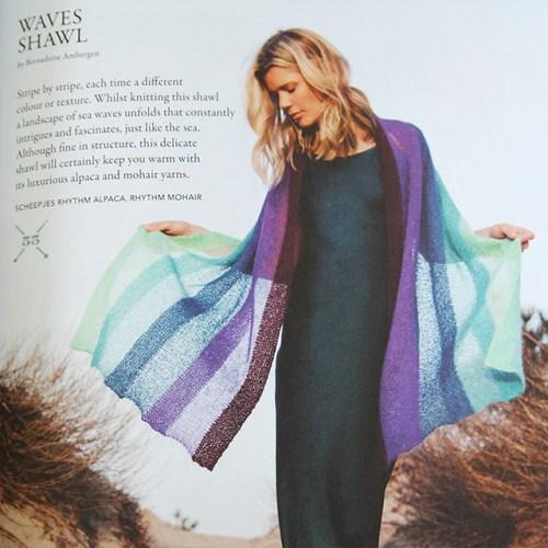 scheepjes breipakket waves shawl
