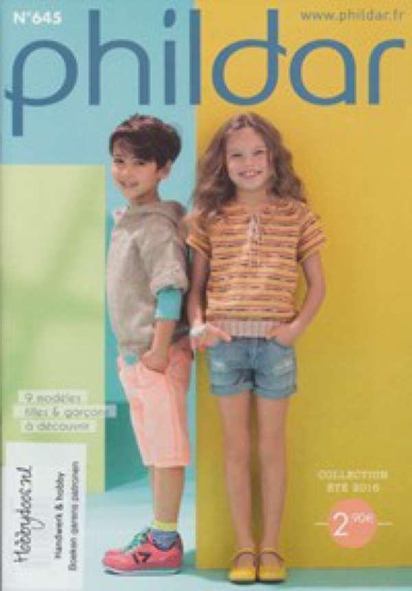 Phildar mini Catalogus 645