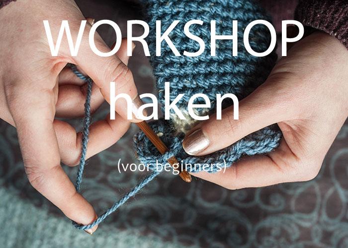 workshop haken voor beginners 21 september 2019