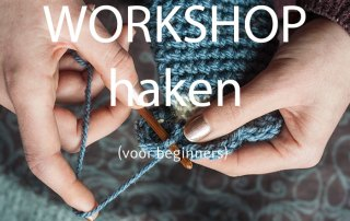 workshop haken voor beginners 21 september 2019