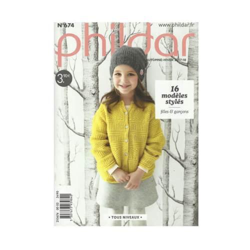 phildar magazine nr 674 herfst en winter collectie voor jongens en meisjes