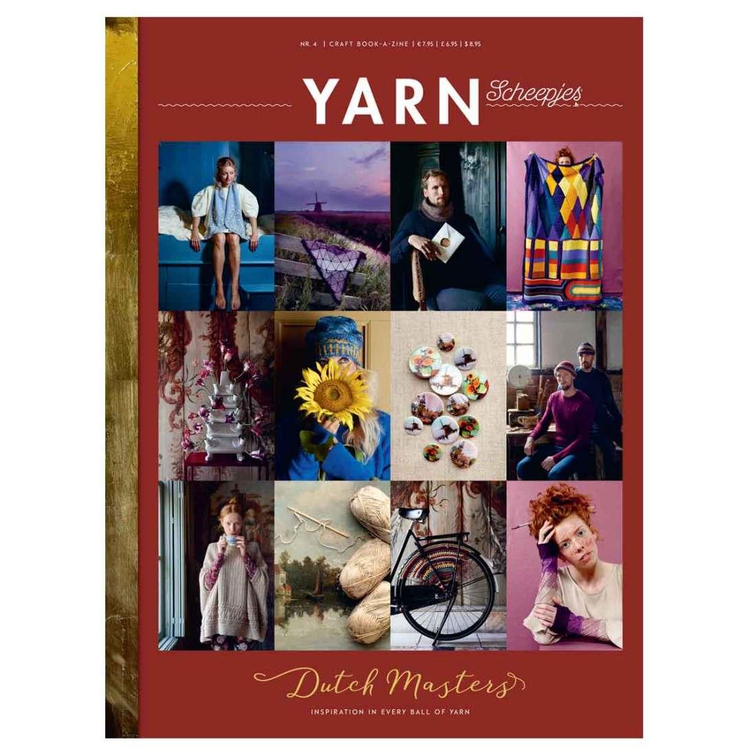 scheepjes bookazine yarn 4 dutch masters