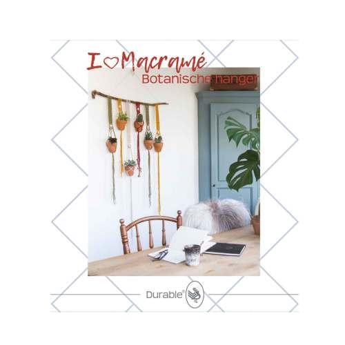 durable macrame pakket botanische hanger