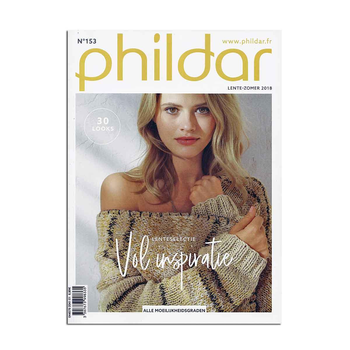 phildar magazine 153 lente en zomer 2018