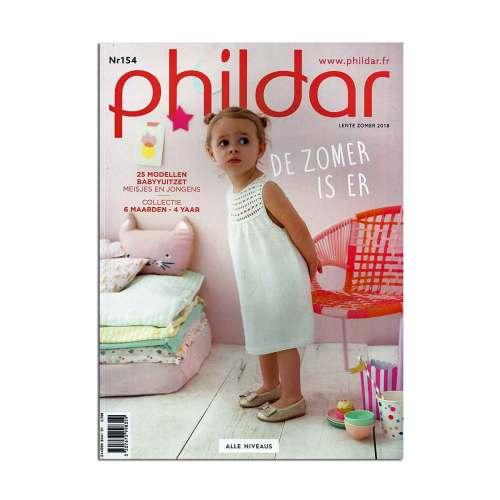 phildar magazine 154 lente en zomer 2018