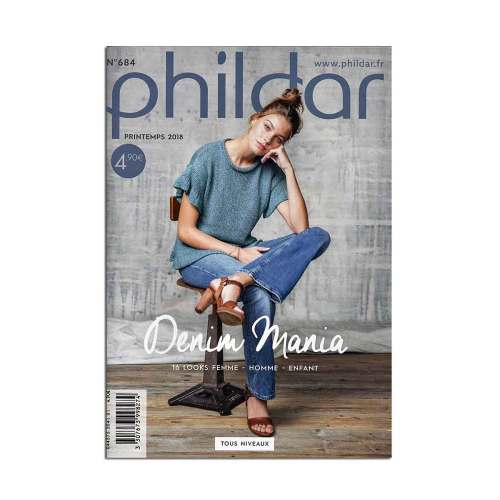 phildar magazine 684 voorjaar denim mania