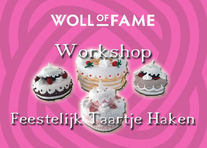 workshop feestelijk taartje haken op 9 april
