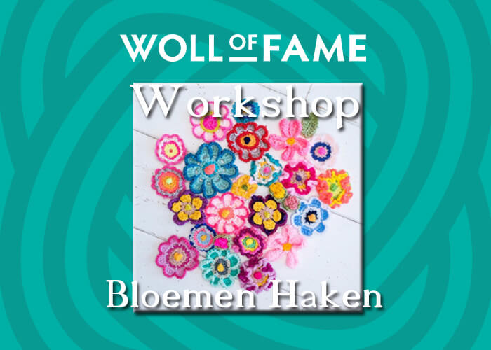 workshop bloemen haken op 6 juli