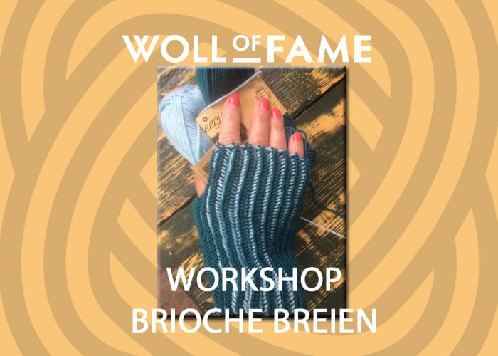 workshop brioche breien op 5 oktober
