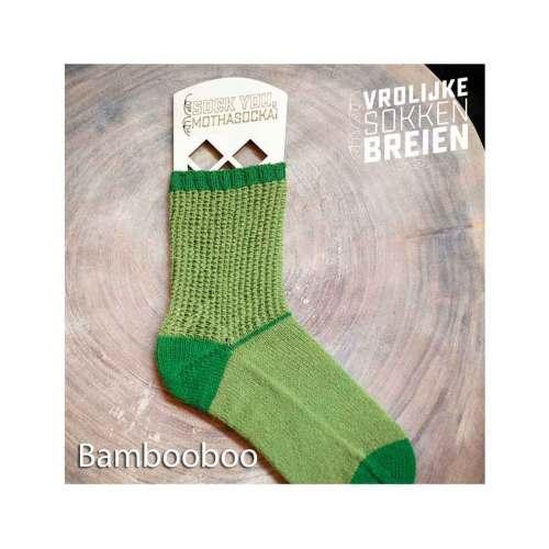 vrolijke sokken breien bambooboo