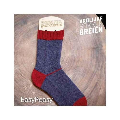 vrolijke sokken breien easypeasy