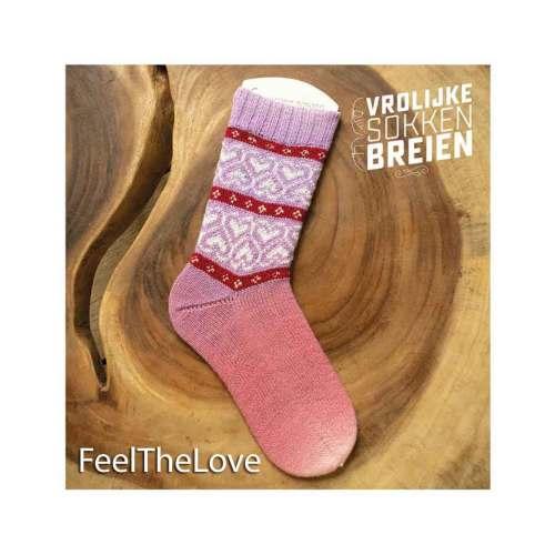 vrolijke sokken breien feelthelove