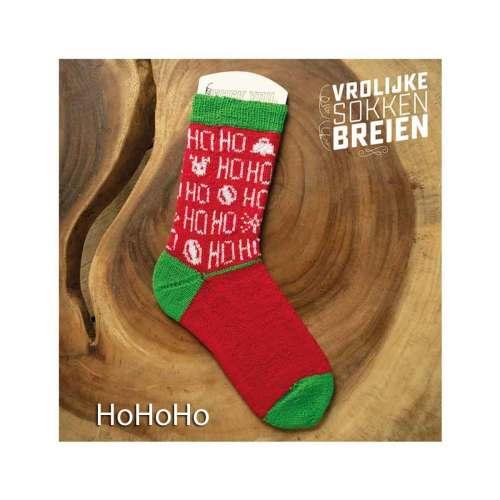 vrolijke sokken breien hohoho