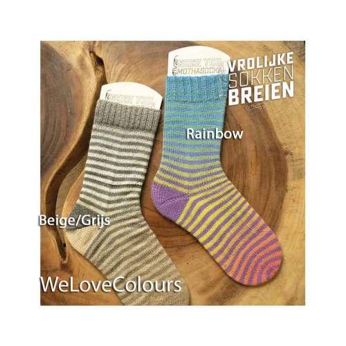 vrolijke sokken breien welovecolours