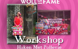 workshop haken met pollevie op 8 februari