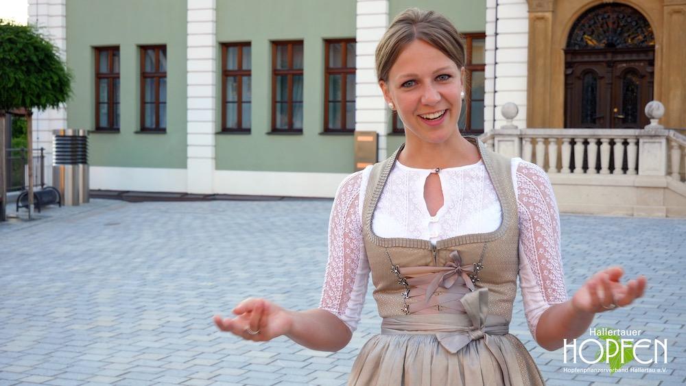 Lisa Widmann, Hopfenkönigin 2019
