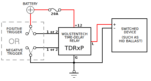 tdr p_basic_diagram?resize\=490%2C265 idec relay wiring diagrams idec safety relay, idec relay 24v Basic Electrical Wiring Diagrams at bakdesigns.co
