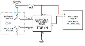 Automotive TimeDelay Relay Installation Instructions
