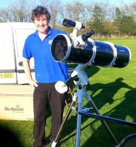 Richard & Telescope