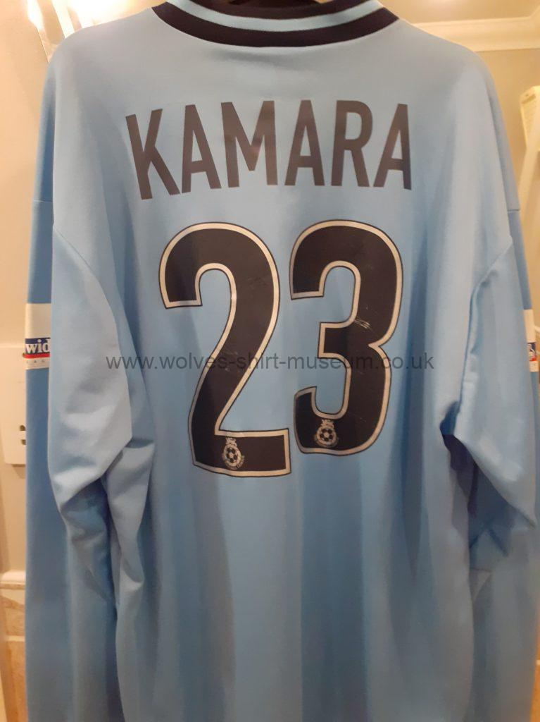 2000-2001 away shirt player issue version rear