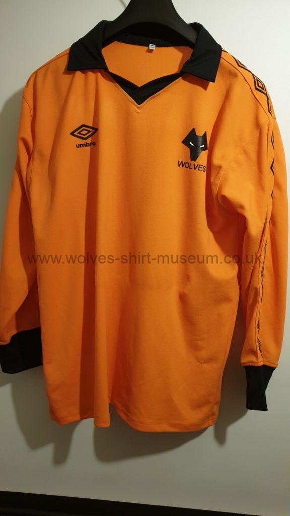 Wolves 1979-82 home shirt by unknown - repro