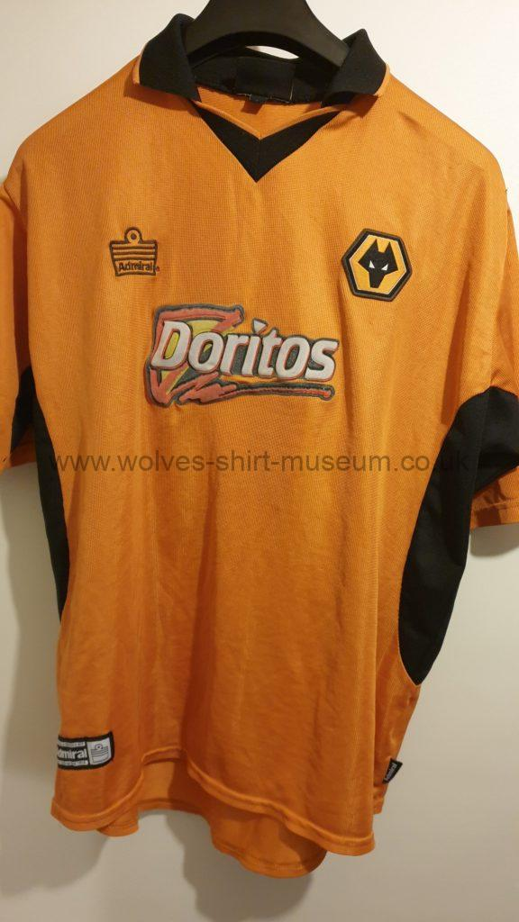 2002-2004 home shirt by Admiral - front