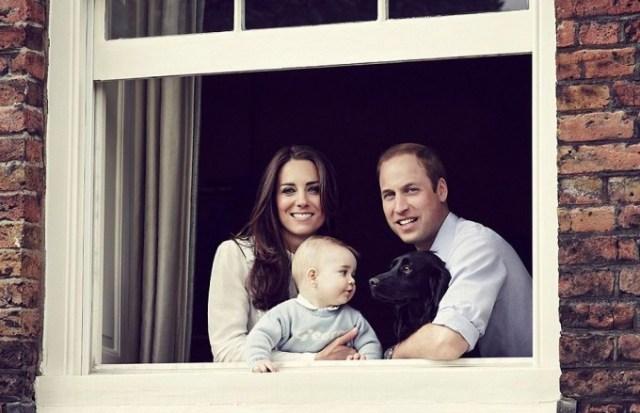 Принц Уильям и Кейт Миддлтон показали подросшего сына