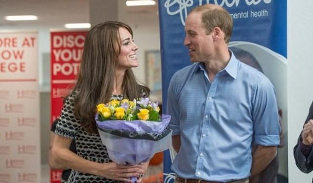 Принц Уильям и Кейт Миддлтон посетили колледж для детей с психологическими проблемами