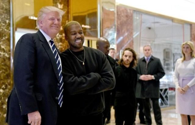 Канье Уэст встретился с Дональдом Трампом в Нью-Йорке