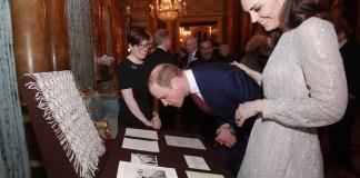 Кейт Миддлтон посетила королевский приём в честь года индийской культуры в Великобритании