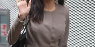Анджелина Джоли провела лекцию для студентов и посетила Букингемский дворец