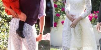 Кейт Миддлтон надела просвечивающее платье на королевские скачки в Аскоте