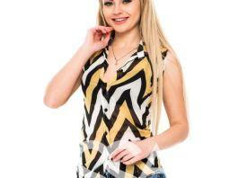 Игра стиля: блузы с коротким рукавом