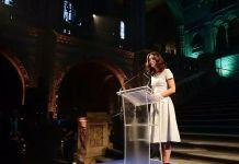 Кейт Миддлтон выступила в музее естествознания в Лондоне