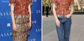 Эмма Стоун и Лили Коллинз в топе Chanel