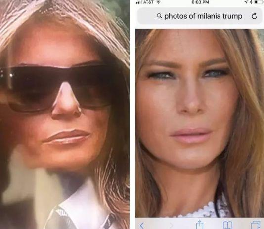 Двойника слух: Меланию Трамп заменил двойник