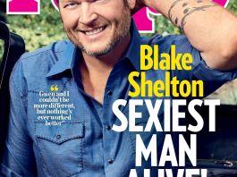 Блэйк Шелтон - самый сексуальный мужчина 2017 по версии журнала People