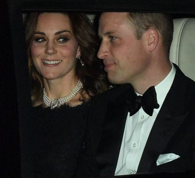 Принц Уильям и Кейт Миддлтон поздравили Елизавету II с 70-летним юбилеем брака