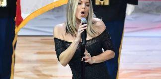В Интернете высмеяли гимн США в исполнении Ферги
