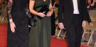 Кейт Миддлтон нарушила чёрный дресс-код премии BAFTA-2018