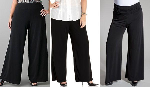 Как выбрать женские брюки больших размеров? Секреты фасона и материала