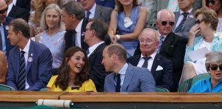 Принц Уильям и Кейт Миддлтон посетили мужской финал Уимблдона
