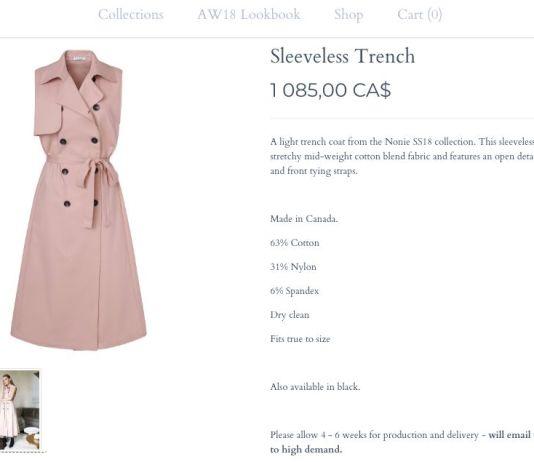Тренч-платье как у Меган Маркл раскуплено за считанные часы
