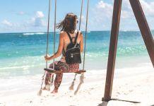 Пляжная сумочка