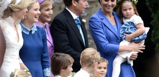 Кейт Миддлтон пришла на свадьбу своей подруги
