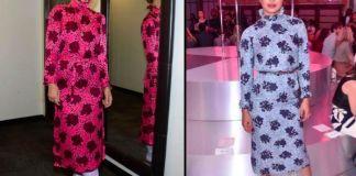 Оливия Уайлд и Приянка Чопра в платье Kate Spade